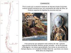 Changos descendientes de los chinchorros