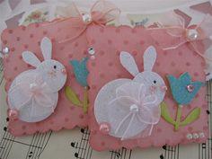 Bunny Embellishments by vsroses.com, via Flickr