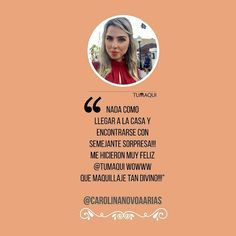 La querida reportera @carolinanovoaarias recibió su Box Tumaqui y compartió su opinión con nosotros. - Nada como llegar a la casa y encontrarse con semejante sorpresa me hicieron MUY feliz @tumaqui wowww que maquillaje TAN divino. - #tumaqui #makeup #maquillaje #tips #belleza #contorno #makeuplover #makeuprevolution #labios #lipstick #iluminador #vidademaquilladora #gloss #blogger #envios #gratis #nacional #internacional #box #productos #instamakeup #base #blush #maquillador #delineador…