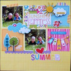I Love Summer - Scrapbook.com