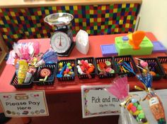 Role play sweet shop