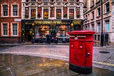 Trey Ratcliff London PhotoWalk 2015 - Sherlock Holmes Got Mail by Radu Micu on 500px