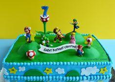 super mario cake i may do