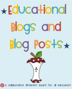 Educational Blogs and Blog Posts Collaborative board. This board is a treasure trove of educational bloggers & their posts. This board is for educators of children aged 0-18 years. The aim of this board is to unite different educational groups on one page & share the love!