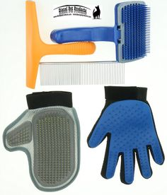 5 In 1 PET GROOMING TOOLS COMIBINATION KIT Glove Brush, Furniture Pet Hair Remover, Pet Groomer Mitt, Dematting Comb - Great For Short or Long Hair Puppy Dog Kitten Cat Bunny Rabbit Ferret Pony Horse * Check this awesome product by going to the link at the image. (This is an affiliate link and I receive a commission for the sales)
