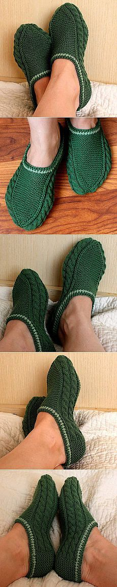 Model slippers for the whole family Knitting Stitches, Knitting Designs, Knitting Socks, Hand Knitting, Knitting Patterns, Crochet Patterns, Crochet Ripple, Knit Crochet, Crochet Baby