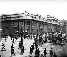 Bank of England, Threadneedle Street, c 1885