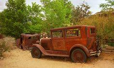 "Route 66 Vintage Auto, Hackberry, Arizona. ""The Fine Art Photography of Frank Romeo."""