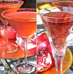 Easy Thanksgiving Cocktail Recipe: Pomegranate and Prosecco Spritzer
