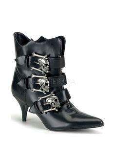 Wide Width Women's Demonia Fury 06 | Wide Calf Boots from fullbeauty