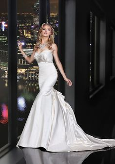 Simone Carvalli 90163 Wedding Dress - The Knot