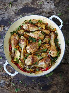 Food Allergy Mums' chicken drumsticks (replace stock with water to make it FODMAP friendly)