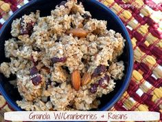 Mommy's Kitchen - Old Fashioned & Southern Style Cooking: Super Easy Homemade Granola