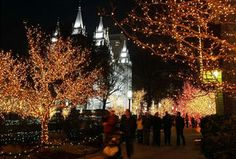 Season of sparkle: How Christmas lights came to Temple Square