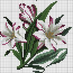 Gallery.ru / 160217 - Схемы вышивки крестом - pustelga