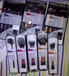 Real Techniques Brushes- best brushes by far for the price around $15 for each set