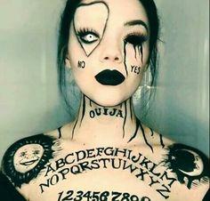 halloween makeup idea for school! #BeautySchool