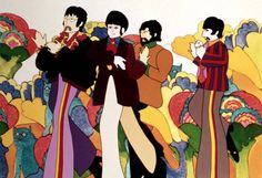 Heinz Edelmann: Illustrator who helped to create the psychedelic landscape of the Beatles film 'Yellow Submarine' - Obituaries - News - The ...