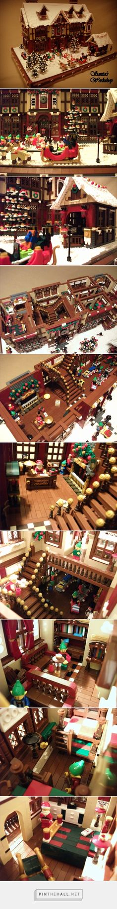 Santa's workshop (UCS): A LEGO® creation by Boise Bro : MOCpages.com - created via http://pinthemall.net