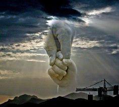 Take my hand, precious Lord...