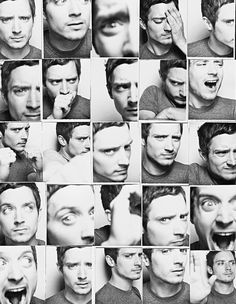 """Elijah Wood selfies. This reminds me of something my sister Jackie would do."" <---- hahahah! It's true..."