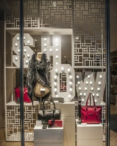 """Retail window display; Leffers, Oldenburg, Germany,presents: """"The Greatest Show On Earth"""""""