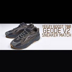 bf801011e1593 Yeezy Boost 700 Geode V2 Sneaker Matching Clothing