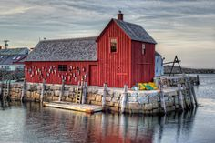 Fishing shack In the small town of Rockport, Massachusetts. We have friends in Rockport and love this town. Great Places, Places Ive Been, Beautiful Places, Places To Travel, Places To Go, Rockport Massachusetts, Fishing Shack, The 'burbs, Vacation Spots