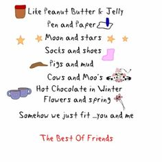 Image detail for -Greens Of designs: Cute quotes and sayings about best friends