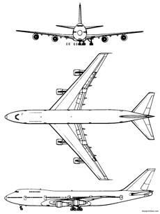 747 200 Series Fuzzy Schematics Airplane Coloring Pages Easy Drawings Easy Drawings For Kids
