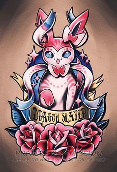 Sylveon Tattoo Commission by RetkiKosmos on DeviantArt