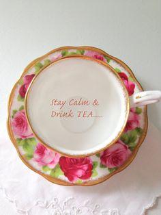 Vintage English Royal Albert Tea Cup and Saucer by MariasFarmhouse, $55.00