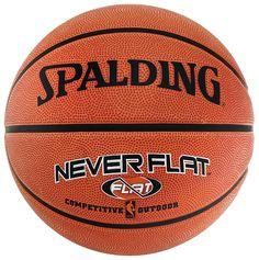 NBA Neverflat Outdoor (63-803Z) Basketball    Der Outdoor-Ball mit exklusiver und patentierter Neverflat-Technologie und einer sehr haltbaren Rubber-Oberfläche ist speziell für das Spiel im Freien geeignet. Exklusive und patentierte NitroFlat-Technologie / Spezielle Ventiltechnik / Optimale Mischung aus Haltbarkeit und Spieleigenschaften / Größe 7    Geschlecht: Unisex  Material: Haltbare Gummi...