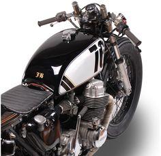 Honda CB750 by motoHangar - (SILODROME)