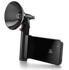 Flash para iPhone, lo quiero ahora! porque el mio no tiene ni luz jua!