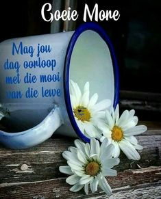 Good Morning Wishes, Day Wishes, Good Morning Quotes, Lekker Dag, Afrikaanse Quotes, Goeie Nag, Goeie More, Morning Greeting, Cartoon Pics
