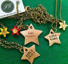 Quante STELLE vedi? ⭐️ #collane #personalizzabili #stata #stelle #stella #beastar #super #mamma #amica #sorella #sonopazzesca #customized #bronzo #bronze #handmade #genova #fg #bijouxfg #bijouxfgaddicted #customizeyourjewelry www.bijouxfg.it