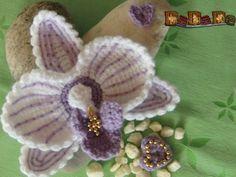 Blumen häkeln - Orchideen häkeln - PDF-Ebook