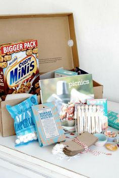 Care-Paket Picnic, Spices, Potatoes, Packing, Projects, Bag Packaging, Potato, Picnics, Picnic Foods