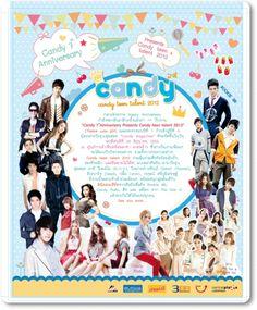 """งาน """" Candy 7th Anniversary Presents Candy Teen Talent 2012 """"  ( Theme Cute Girl ) ฉลองครบรอบปีที่ 7 ก้าวสู้ปีที่ 8 นิตยสาร วัยรุ่น สุดฮอต """" Candy Magazine """""""