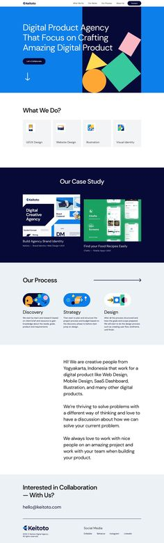 Keitoto | Land-book - the finest hand-picked website inspirations Design Agency, Ui Design, Ui Portfolio, Ui Web, Inspire Others, Cool Websites, How To Introduce Yourself, Motivation, Studio