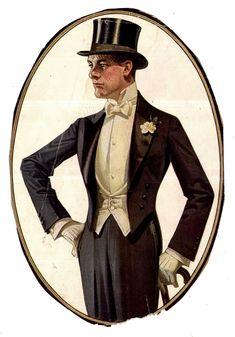 fashion illustration by JC Leyendecker