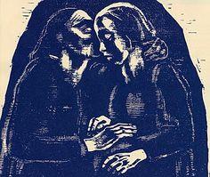 Käthe Kollwitz, Begegnung (1928)