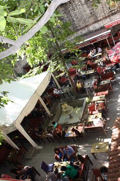 44cb6d5c890cc Typical turkish tea garden - Istanbul