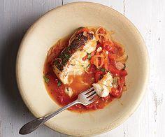Braised Black Sea Bass - Recipe - FineCooking