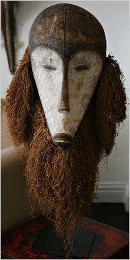 Mask from Gabon Arte Tribal, Tribal Art, Afrique Art, Atelier D Art, Art Premier, Head Mask, Out Of Africa, Masks Art, African Masks
