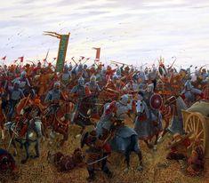 Battle between the Bulgars and Mongols