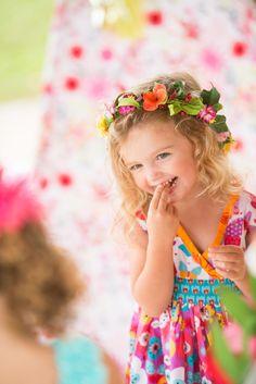 Wildflower Themed Kids Birthday Party