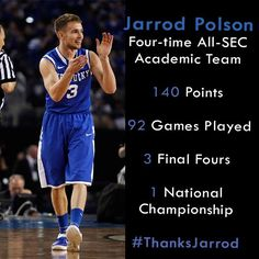 Continuing our goodbyes, how about a little shout out to @jpolson05 today? #ThanksJarrod pic.twitter.com/GcpDRzuH1F