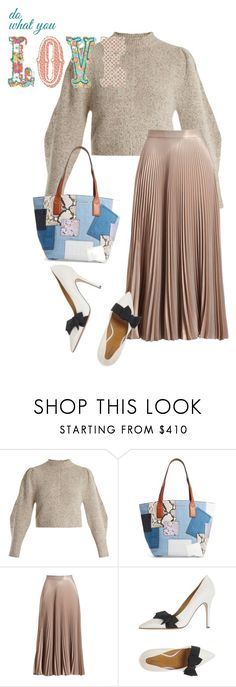 """bag"" by masayuki4499 ❤ liked on Polyvore featuring Isabel Marant, Marc Jacobs and A.L.C."